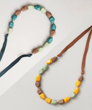 Pumpkin Necklace :: 2 colors