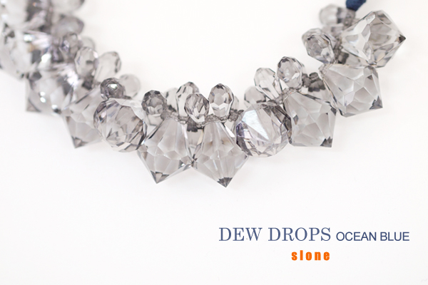 DEW DROPS-ocean blue